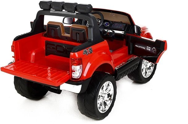 Beneo Electric Ride-On Toy Car Ford Ranger Wildtrak 4X4 Red Paint