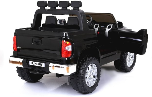 Beneo Electric Ride-On Toy Car Toyota Tundra Black