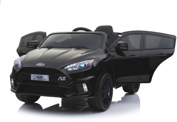 Beneo Electric Ride-On Car Ford Focus RS Black Paint