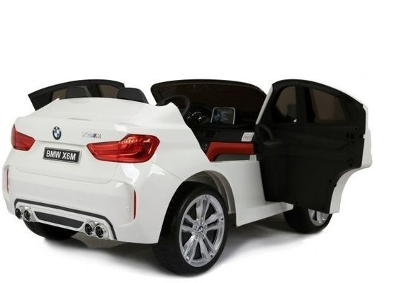 Beneo BMW X6 M Electric Ride-On Car White