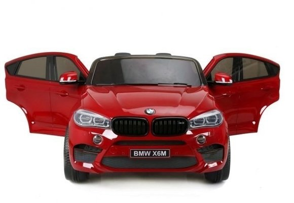 Beneo BMW X6 M Electric Ride-On Car Red Paint