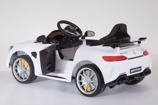 Beneo Electric Ride-On Car Mercedes-Benz GTR White