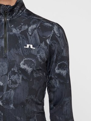 J.Lindeberg Kimball Printed Mid Jersey Black Sports Camo L