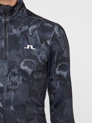 J.Lindeberg Kimball Printed Mikina Black Sports Camo XL
