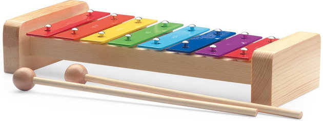 Eve Xylophone 8 Coloured Sound Plates