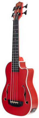 Kala U-Bass Journeyman Fretted Matte Red