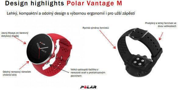 Polar Vantage M Black M/L