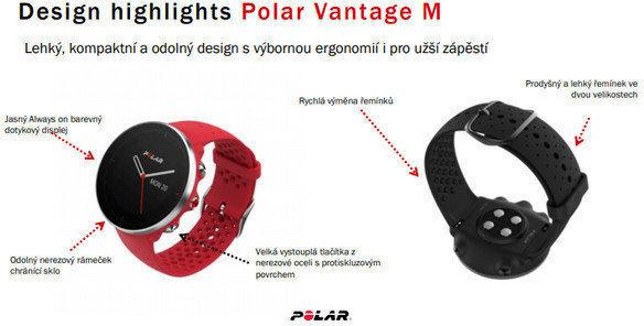 Polar Vantage M Black S/M