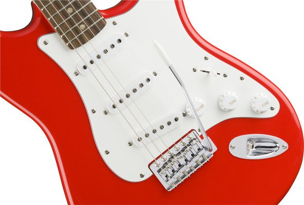 Fender Squier Affinity Series Stratocaster IL Race Red