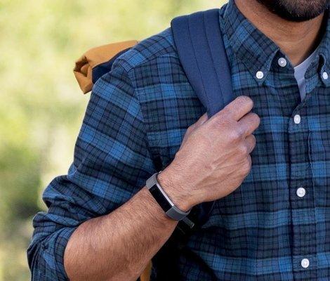 Fitbit Alta HR Blue Gray S