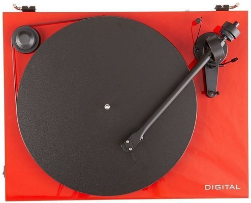 Pro-Ject Essential II Digital Red Plus OM5E