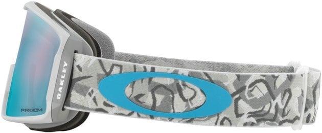 Oakley Line Miner XM Camo Vine Snow w/Prizm Sapphire Iridium 18/19