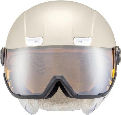 UVEX Hlmt 400 Visor Style Prosecco Met Mat 53-58 cm 18/19