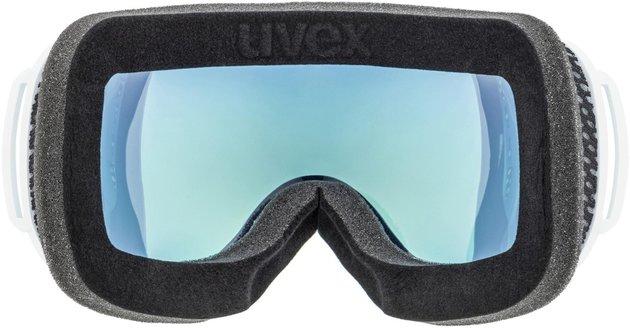UVEX Downhill 2000 FM White Mat/Mirror Orange 18/19