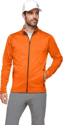 Kjus Diamond Fleece Mens Jacket Kjus Orange 54
