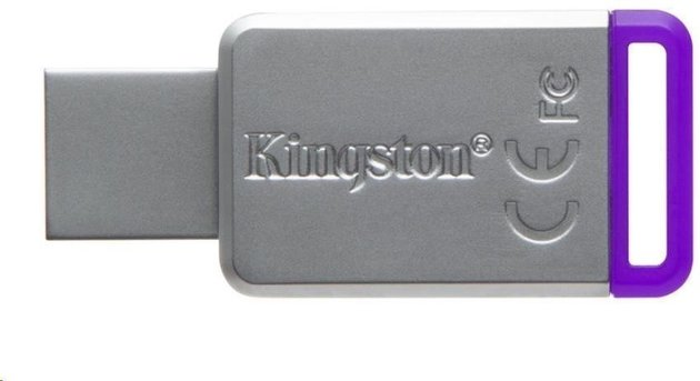 Kingston 8GB Datatraveler DT50 USB 3.1 Gen 1 Flash Drive Purple