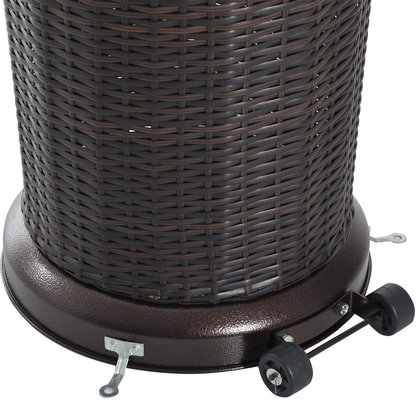 Activa 14100 Gas Patio Heater Rattan 13 kW
