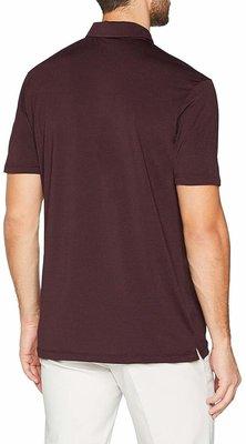 Nike Dry Heather Textured Mens Polo Shirt Burgundy Crush M