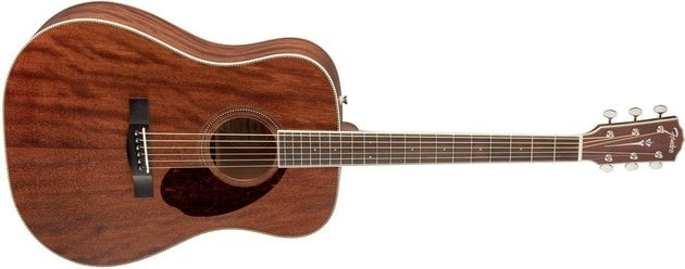 Fender PM-1 Dreadnought OV All-Mahogany W/Case