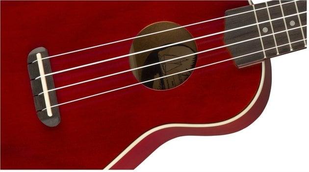 Fender Venice Soprano Ukulele WN Cherry