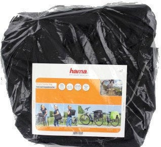 Hama Bicycle Pannier Bag for Luggage Carrier 3 parts Black
