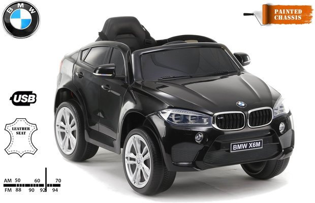 Beneo BMW X6M Electric Ride Black Small