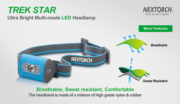 Nextorch Trek Star Sky Blue