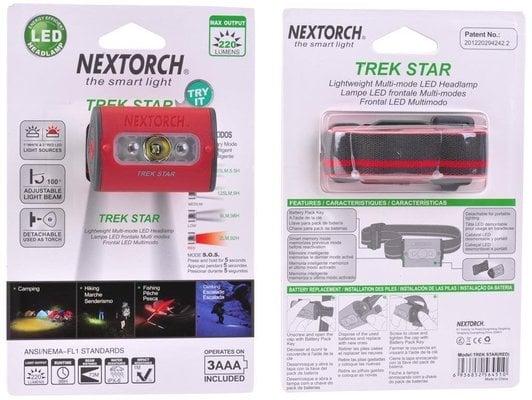Nextorch Trek Star Red