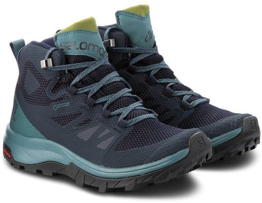 Buty Salomon OUTline Mid GTX Lady navy blazerhydro