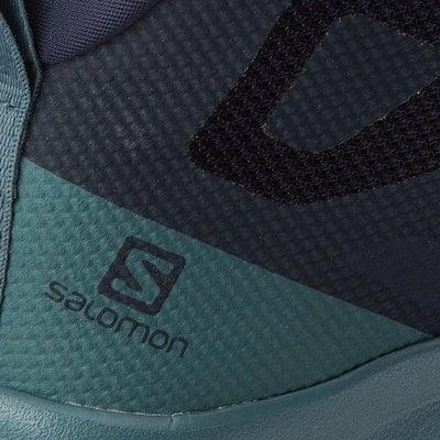 Salomon Outline Mid GTX W Navy Blazer/Hydro/Guacamole 6