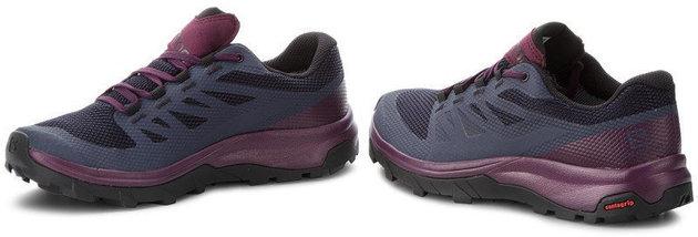 Salomon Outline GTX W Graphite/Potent Purple 4,5