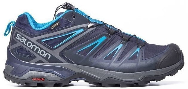 Salomon X Ultra 3 GTX Grey/Night Sky/Hawaii 9,5