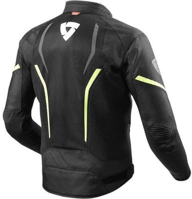 Rev'it! Jacket GT-R Air 2 Black-Neon Yellow M