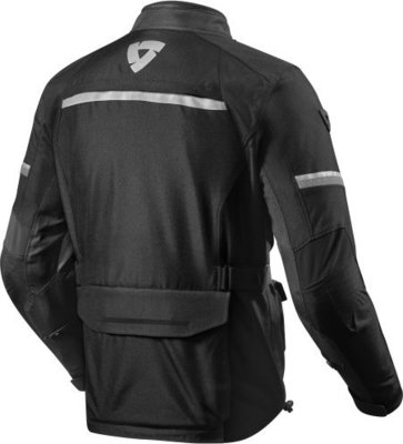 Rev'it! Jacket Outback 3 Black-Silver XXL