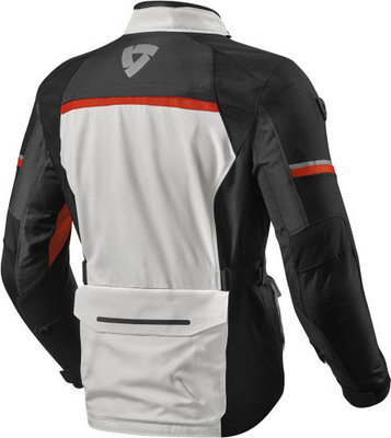 Rev'it! Jacket Outback 3 Silver-Red XL