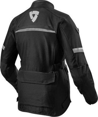 Rev'it! Jacket Outback 3 Ladies Black-Silver Lady 40