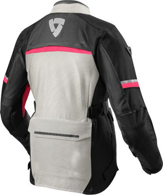 Rev'it! Jacket Outback 3 Ladies Silver-Fuchsia Lady 38