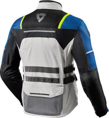 Rev'it! Jacket Offtrack Silver-Blue M