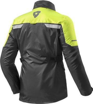 Rev'it! Rain Jacket Nitric 2 H2O Black-Neon Yellow XXL