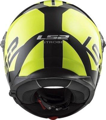 LS2 FF325 Strobe Zone H-V Yellow Black M