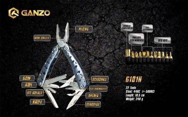 Ganzo Multi-Tool G101H