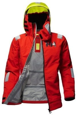 Helly Hansen Aegir Race Jacket Alert Red S