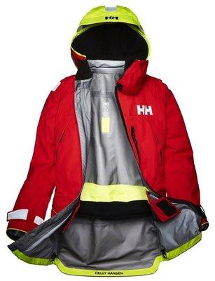 Helly Hansen Aegir Ocean Jacket Alert Red L