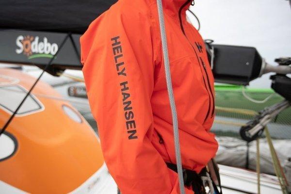 Helly Hansen HP Racing Midlayer Jacket Cherry Tomato XXL