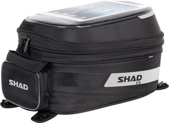 Shad Big Tank Bag With Base Tank 19-31 L
