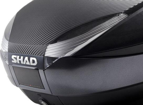 Shad Top Case SH48 Black/Titanium