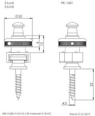 Schaller Security Locks Nickel