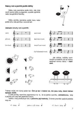 Dagmar Lisá Hudební nauka pro malé i větší muzikanty 1