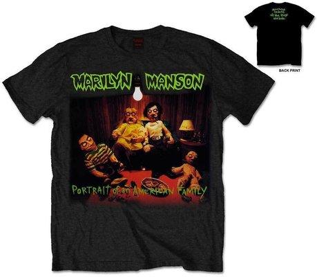 Marilyn Manson Mens Tee American Family XL