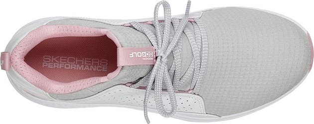 Skechers GO GOLF Max - Mojo Womens Golf Shoes White/Grey/Pink 38,5